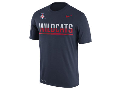 Arizona Wildcats Nike NCAA Mens Legend Staff Sideline T-Shirt