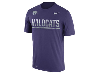 Kansas State Wildcats Nike NCAA Mens Legend Staff Sideline T-Shirt