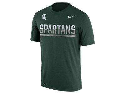 Michigan State Spartans Nike NCAA Mens Legend Staff Sideline T-Shirt
