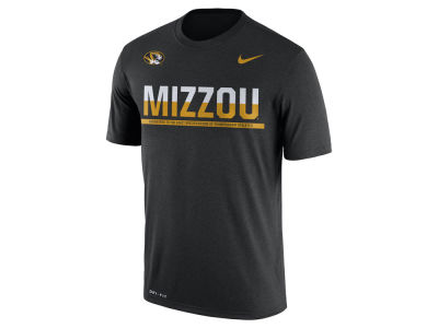 Missouri Tigers Nike NCAA Mens Legend Staff Sideline T-Shirt