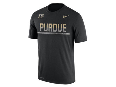 Purdue Boilermakers Nike NCAA Mens Legend Staff Sideline T-Shirt