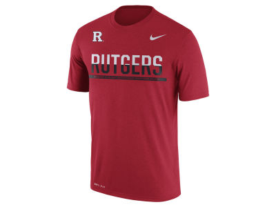 Rutgers Scarlet Knights Nike NCAA Mens Legend Staff Sideline T-Shirt