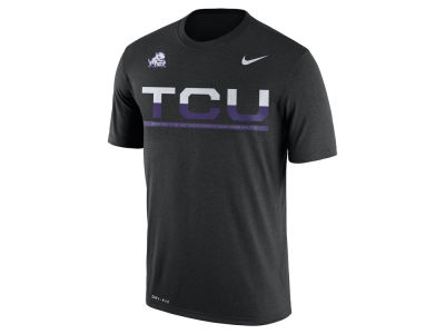 Texas Christian Horned Frogs Nike NCAA Mens Legend Staff Sideline T-Shirt