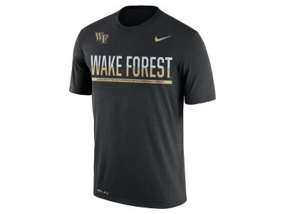 Wake Forest Demon Deacons Nike NCAA Mens Legend Staff Sideline T-Shirt