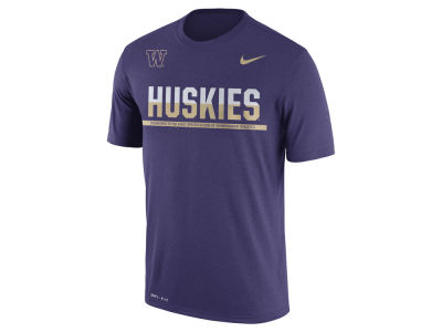 Washington Huskies Nike NCAA Mens Legend Staff Sideline T-Shirt