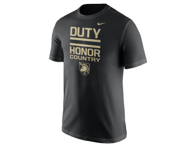 Army Black Knights Nike NCAA Men's Cotton Local Verbiage T-Shirt