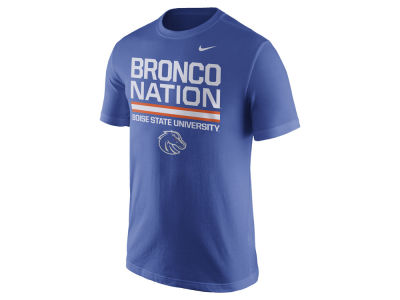 Boise State Broncos Nike NCAA Men's Cotton Local Verbiage T-Shirt