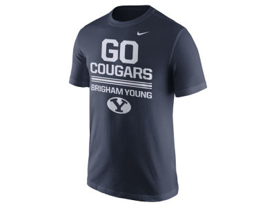 Brigham Young Cougars Nike NCAA Men's Cotton Local Verbiage T-Shirt