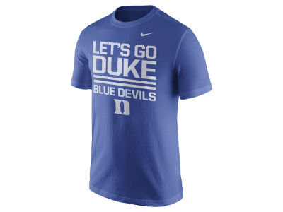 Duke Blue Devils Nike NCAA Men's Cotton Local Verbiage T-Shirt