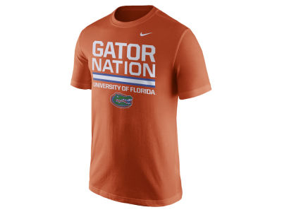 Florida Gators Nike NCAA Men's Cotton Local Verbiage T-Shirt