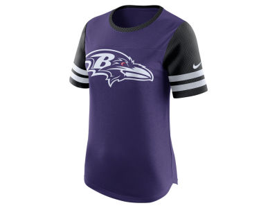 Baltimore Ravens Nike NFL Womens Gear Up Fan Top T-Shirt
