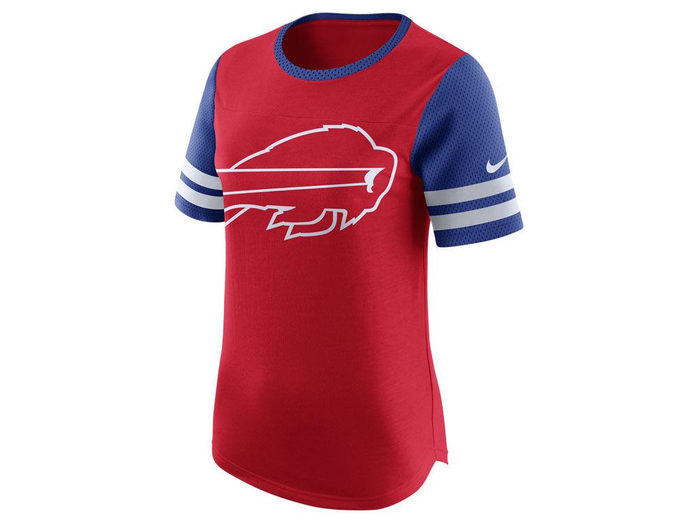 Buffalo Bills Nike NFL Womens Gear Up Fan Top T-Shirt  639ba467df