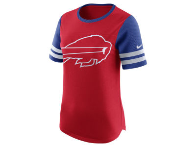 Buffalo Bills Nike NFL Womens Gear Up Fan Top T-Shirt