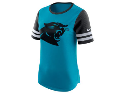 Carolina Panthers Nike NFL Womens Gear Up Fan Top T-Shirt