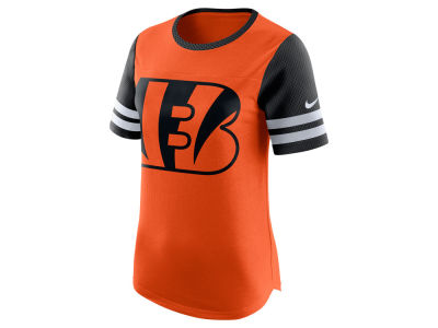 Cincinnati Bengals Nike NFL Womens Gear Up Fan Top T-Shirt
