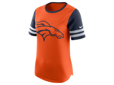 Denver Broncos Nike NFL Womens Gear Up Fan Top T-Shirt