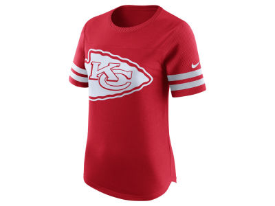 Kansas City Chiefs Nike NFL Womens Gear Up Fan Top T-Shirt