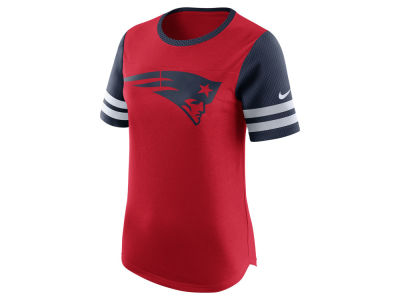New England Patriots Nike NFL Womens Gear Up Fan Top T-Shirt