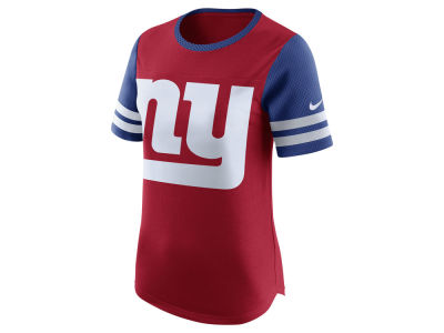 New York Giants Nike NFL Womens Gear Up Fan Top T-Shirt