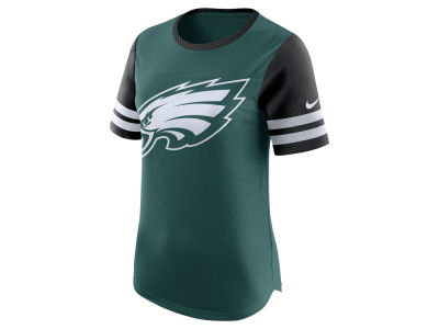 Philadelphia Eagles Nike NFL Womens Gear Up Fan Top T-Shirt