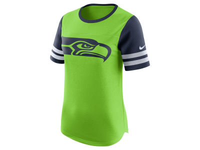 Seattle Seahawks Nike NFL Womens Gear Up Fan Top T-Shirt