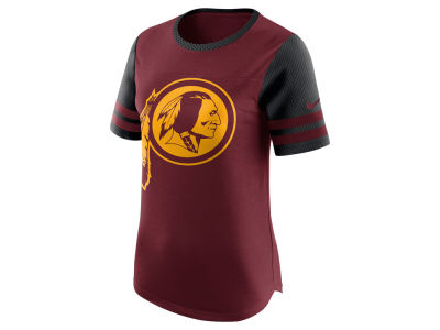 Washington Redskins Nike NFL Womens Gear Up Fan Top T-Shirt