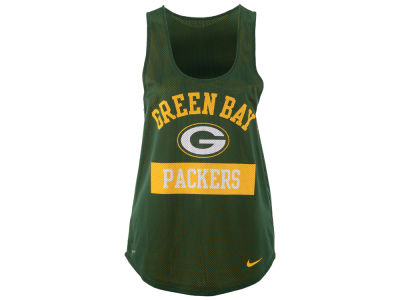 Green Bay Packers Nike NFL Women's Mesh Tank