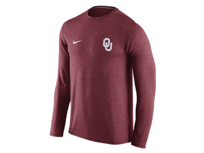 Oklahoma Sooners Nike NCAA Men's Dri-Fit Touch Long Sleeve T-Shirt