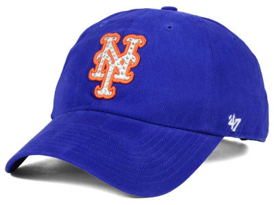 New York Mets '47 MLB Gemstone '47 CLEAN UP Cap