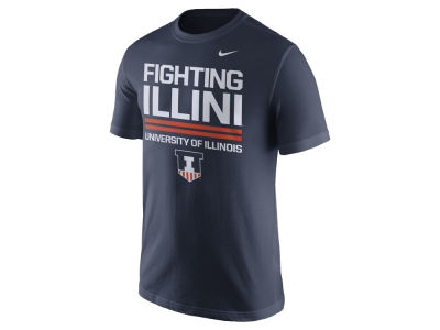 Illinois Fighting Illini Nike NCAA Men's Cotton Local Verbiage T-Shirt