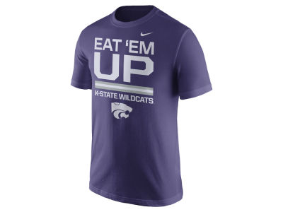 Kansas State Wildcats Nike NCAA Men's Cotton Local Verbiage T-Shirt