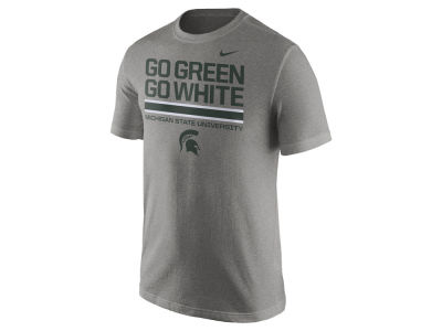 Michigan State Spartans Nike NCAA Men's Cotton Local Verbiage T-Shirt