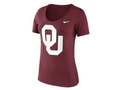 Oklahoma Sooners Nike NCAA Women's Cotton Logo T-Shirt