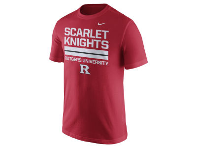 Rutgers Scarlet Knights Nike NCAA Men's Cotton Local Verbiage T-Shirt