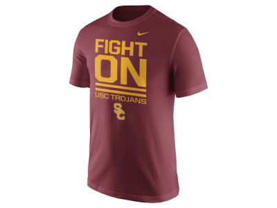 USC Trojans Nike NCAA Men's Cotton Local Verbiage T-Shirt