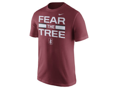 Stanford Cardinal Nike NCAA Men's Cotton Local Verbiage T-Shirt