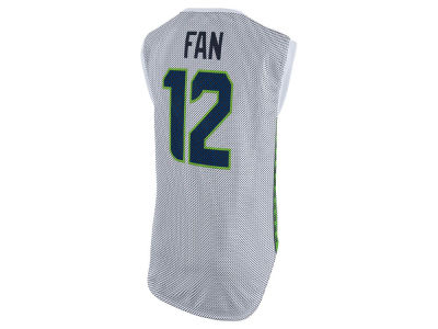 Seattle Seahawks Fan #12 Nike NFL Women's Sleeveless Player Jersey