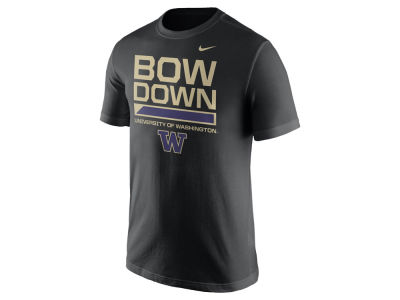 Washington Huskies Nike NCAA Men's Cotton Local Verbiage T-Shirt