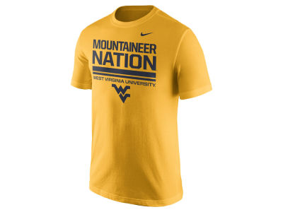 West Virginia Mountaineers Nike NCAA Men's Cotton Local Verbiage T-Shirt