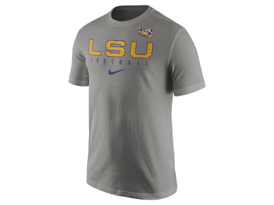 LSU Tigers Nike NCAA Mens Cotton Practice T-Shirt