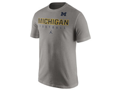 Michigan Wolverines Nike NCAA Mens Cotton Practice T-Shirt