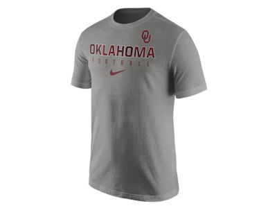 Oklahoma Sooners Nike NCAA Mens Cotton Practice T-Shirt