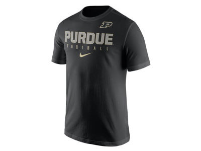 Purdue Boilermakers Nike NCAA Mens Cotton Practice T-Shirt