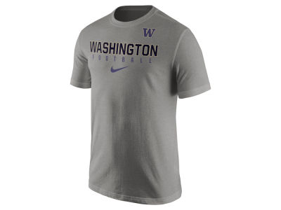 Washington Huskies Nike NCAA Mens Cotton Practice T-Shirt