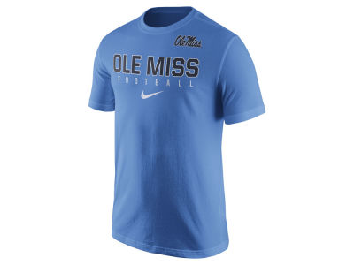 Ole Miss Rebels Nike NCAA Mens Cotton Practice T-Shirt