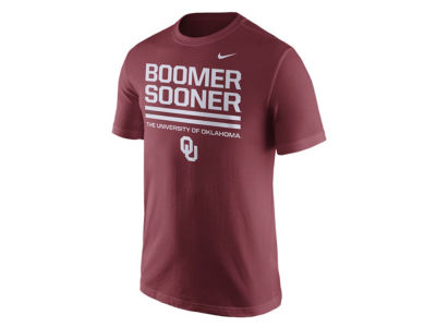 Oklahoma Sooners Nike NCAA Men's Cotton Local Verbiage T-Shirt
