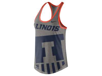 Illinois Fighting Illini Nike NCAA Women's Dri-Blend Gear Up Tank