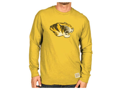 Missouri Tigers Retro Brand NCAA Slub Long Sleeve T-Shirt