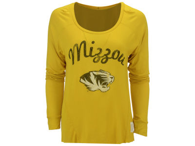Missouri Tigers NCAA Women's XP Rayon Hi Low Long Sleeve T-Shirt