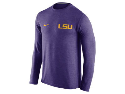 LSU Tigers Nike NCAA Men's Dri-Fit Touch Long Sleeve T-Shirt